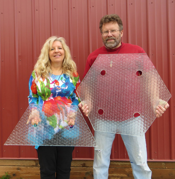 Image: Solar Roadways founders Julie and Scott Brusaw
