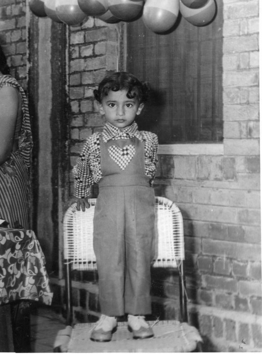 Image: Waris on his third birthday
