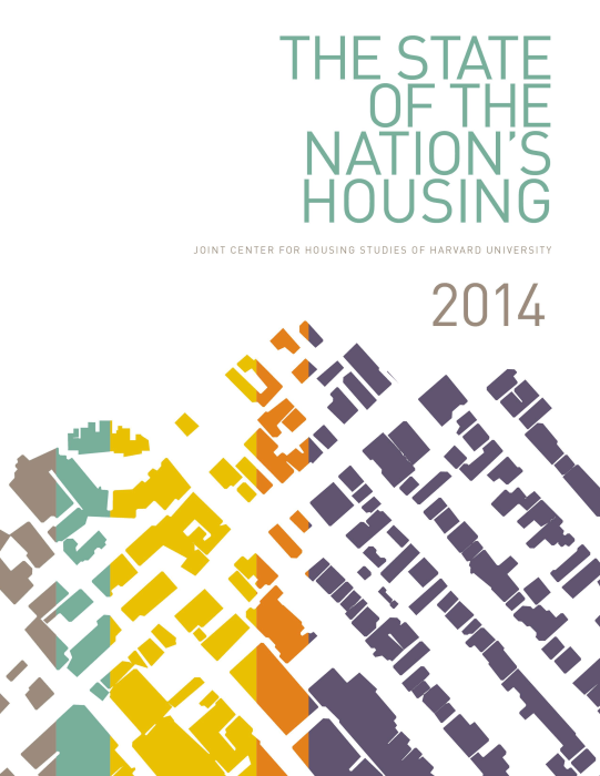 A new report from the Joint Center for Housing Studies of Harvard University.