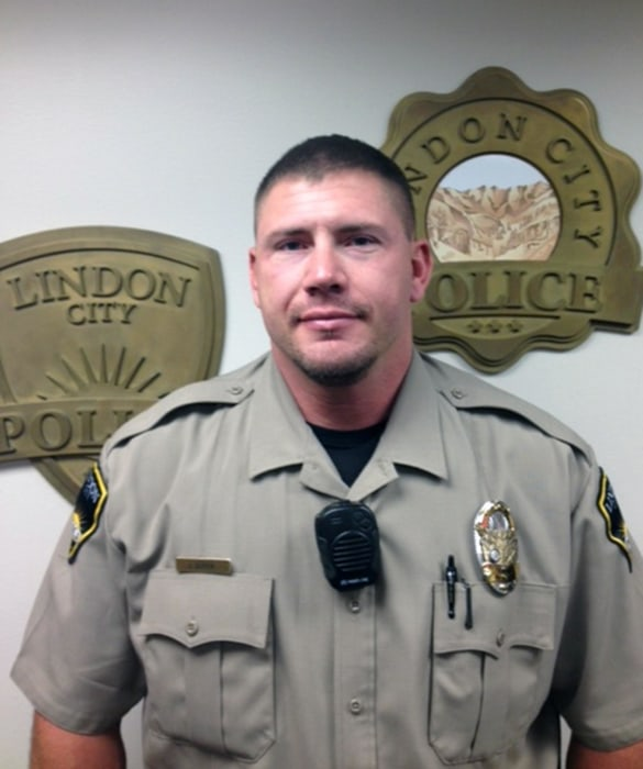 Image: Police officer Joshua Boren from Lindon, Utah in an undated photo