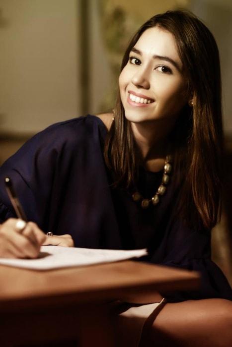 Image: Young designer Sofia Arana, from Puerto Rico