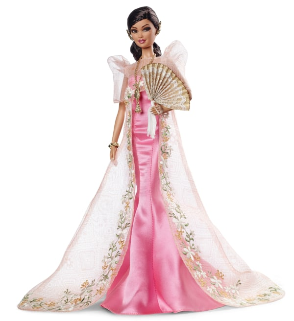 Mattel's newly released Filipina Barbie, Mutya Barbie, designed by Carlyle Nuera.
