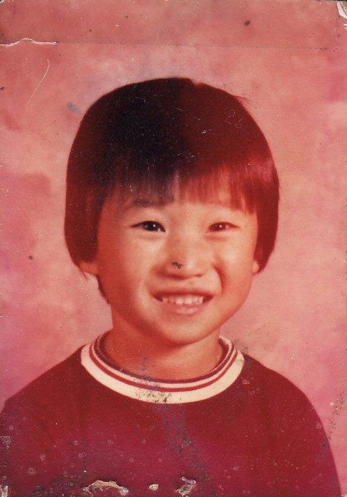Adam Crapser as a child, born in South Korea and adopted by two American families who were physically and sexually abusive.