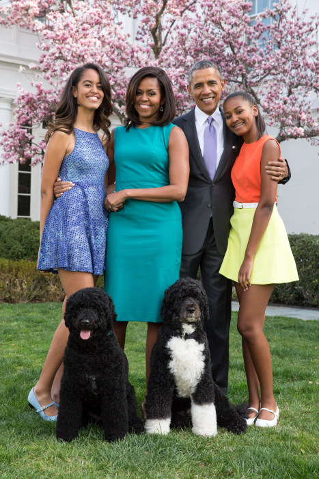 The Obamas Start the Day with the Trumps, End with the Cavaliers