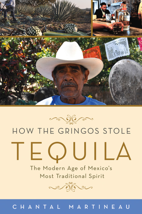 "Image: Book cover of ""How the Gringos Stole Tequila"""