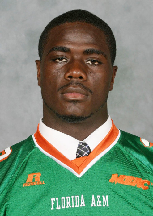Image: Image: Handout shows former Florida A&M University student and football player Ferrell