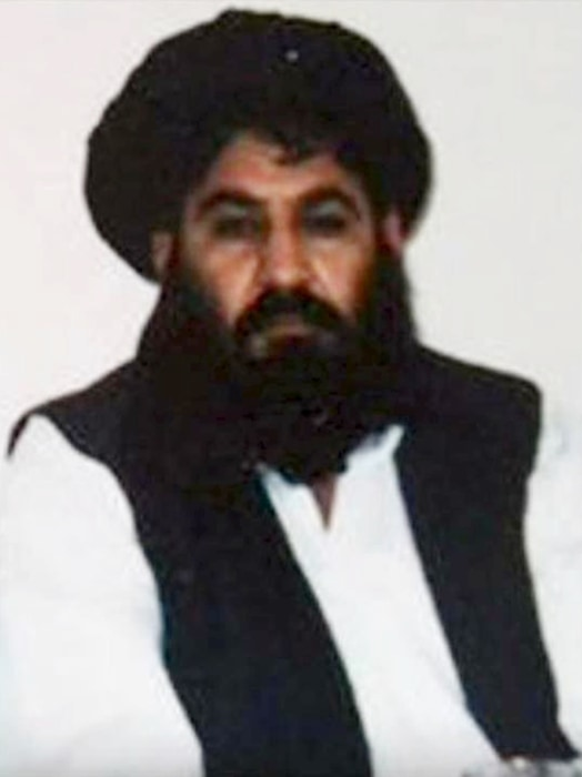 Image: Picture purportedly shows Mullah Akhtar Mohammad Mansoor, who was named leader of the Afghan Taliban on July 30, 2015.