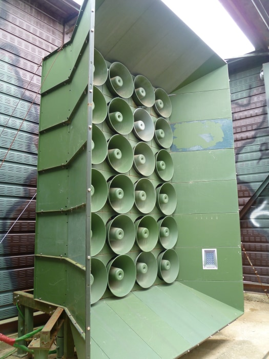 Image: South Korea resumes loudspeaker campaign in western border area
