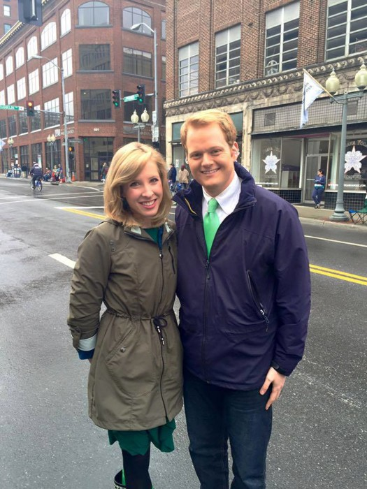 Image: Chris Hurst and Alison Parker