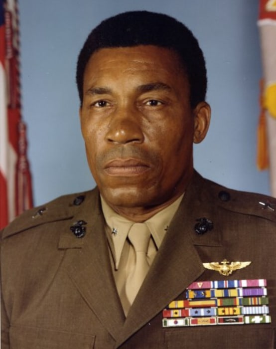 IMAGE: Then-Brig. Gen. Frank E. Petersen in 1979