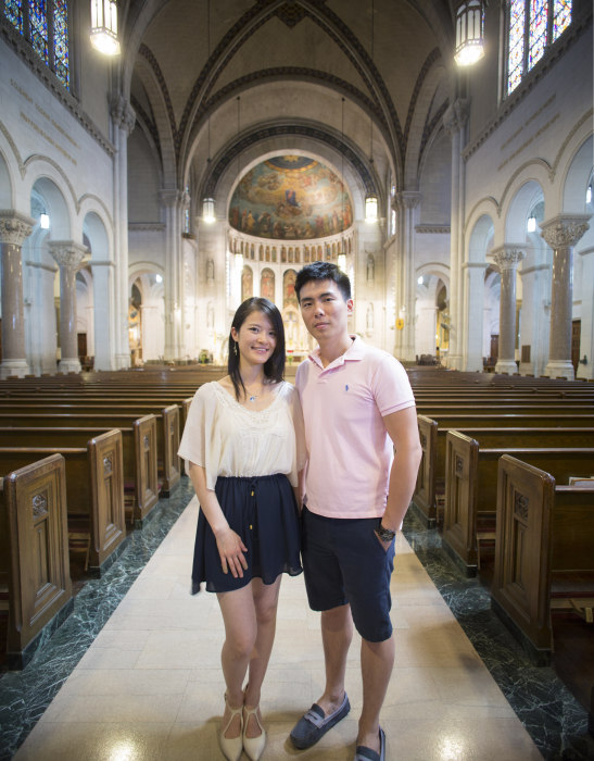 Image: Chinese-American Catholic
