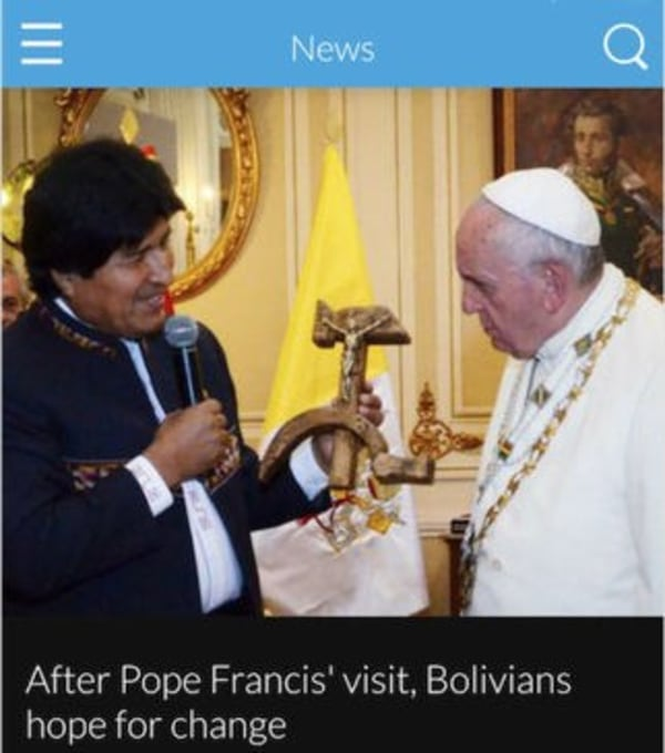Image: USA Catholic Church app