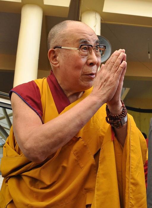 Image: Dalai Lama's teaching session at the Tsuglagkhang temple in Dharamsala