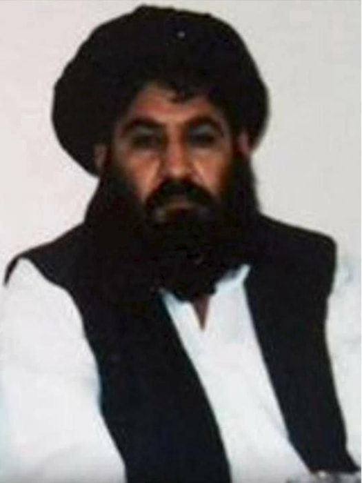 Image: Mullah Akhtar Mohammad Mansour, Taliban militants' new leader
