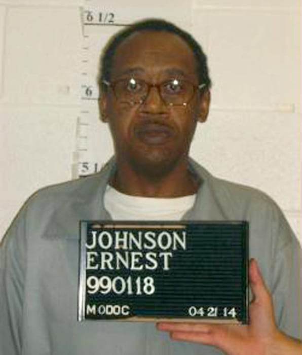 Image: Missouri Department of Corrections of death row inmate Ernest Lee Johnson
