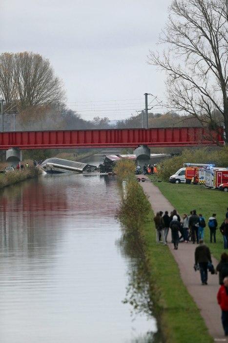 Image: French TGV Train accident near Strasbourg