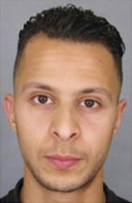 Image: French National Police released a photo of suspect  Salah Abdeslam