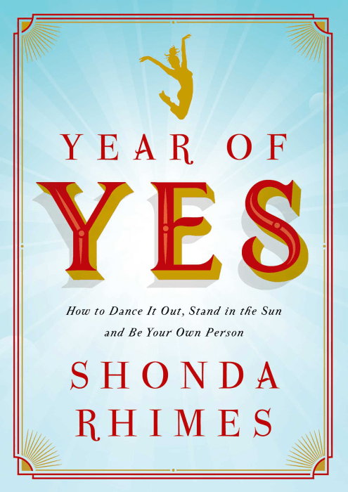 Image: Year of Yes by Shonda Rhimes
