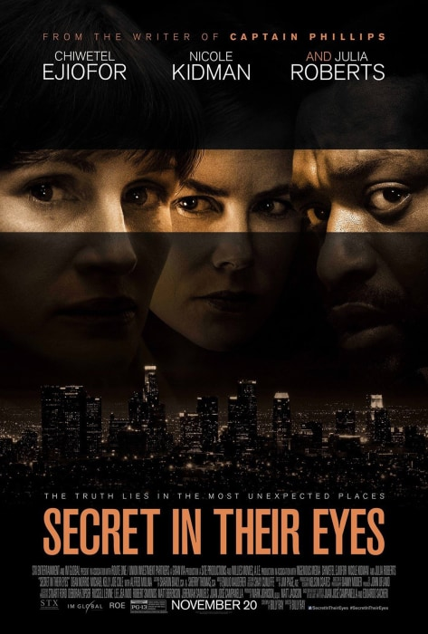 Image: The movie poster for the movie 'Secret In Their Eyes'
