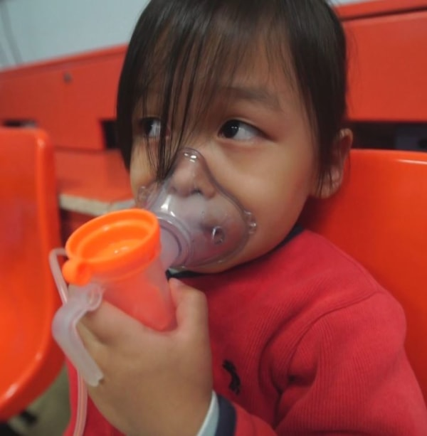 Image: A patient at Beijing Children's Hospital
