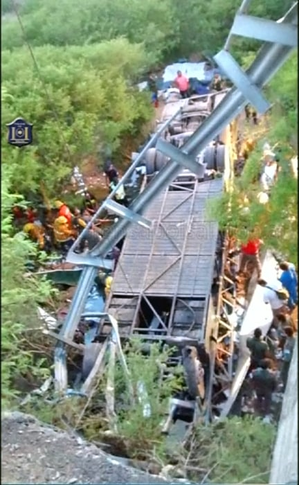 Image: Argentina bus crash