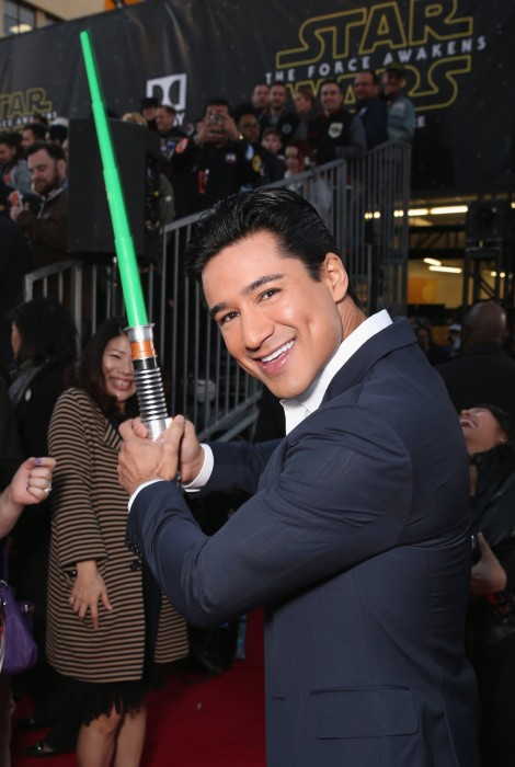 """Image: Premiere Of Walt Disney Pictures And Lucasfilm's """"Star Wars: The Force Awakens"""" - Red Carpet"""