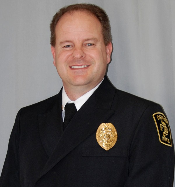 Image: A photo of Fire Chief Eric Tade