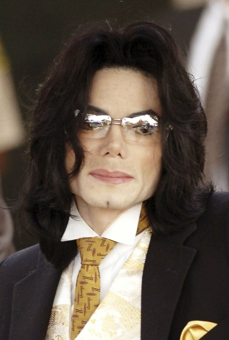 Image: File photo of Michael Jackson in Santa Maria
