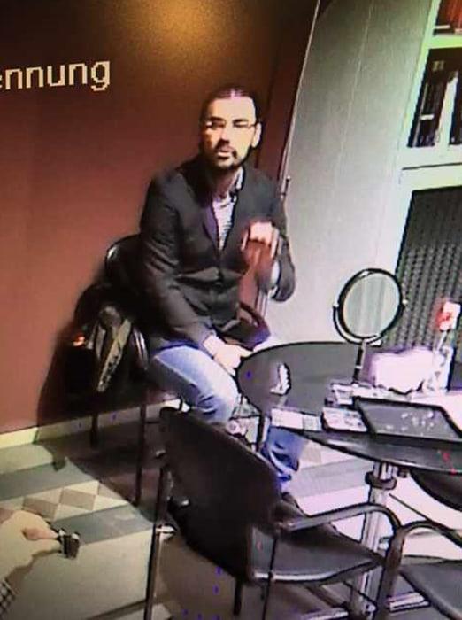 Image: Suspect in Zurich heist