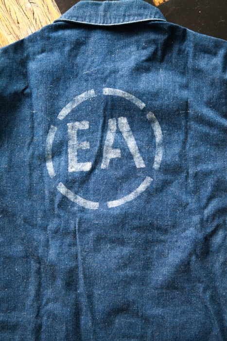 """Enemy Alien"" jacket worn at the internment camps"