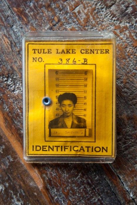 Tule Lake ID card
