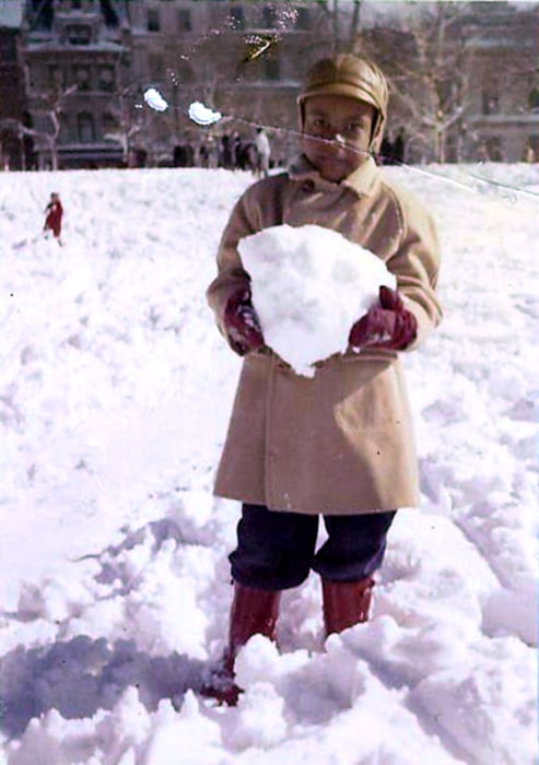 Photo: Marvin Bolton as a child