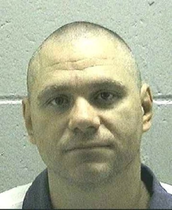 Image: Death row inmate Joshua Bishop is seen in an undated picture from the Georgia Department of Corrections