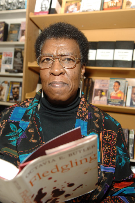 "Octavia E. Butler Discusses Her New Book ""Fledgling"""