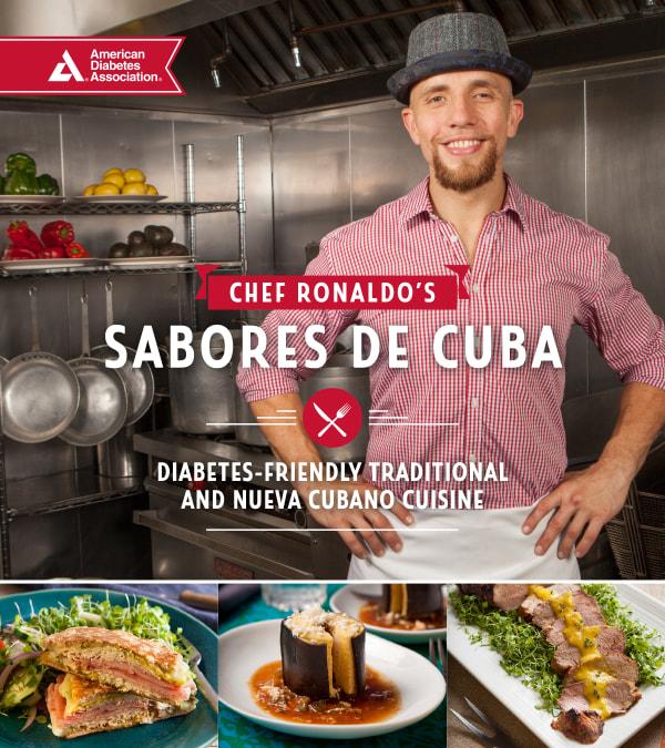 "Chef Ronaldo Linares' book, ""Sabores de Cuba"""