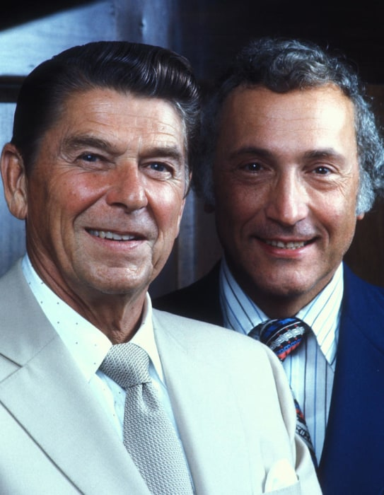 IMAGE: Ronald Reagan and Richard Schweiker in 1976