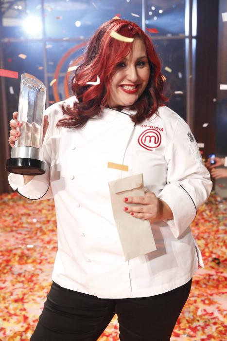 Claudia Sandoval, winner of MASTERCHEF on FOX.