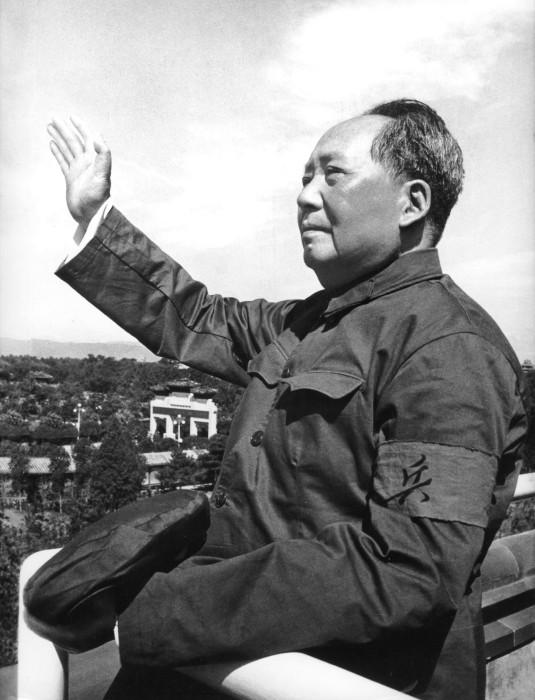 Image:  Mao Zedong in 1966