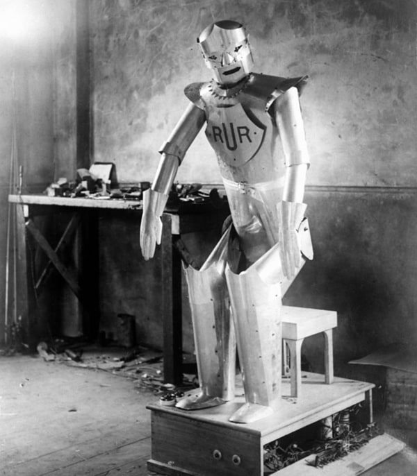 Eric Robot, Created By Richards And Reffell