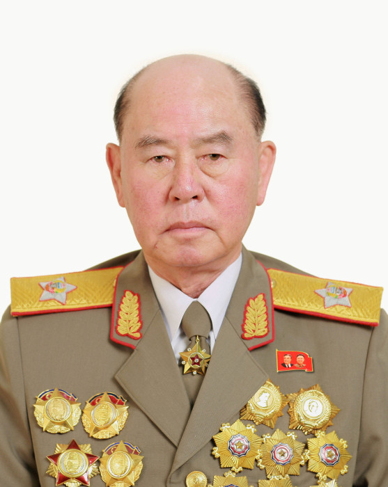 Image: Ri Myong Su, a member of the Political Bureau of the C. C., the WPK, is pictured in this KCNA handout photo