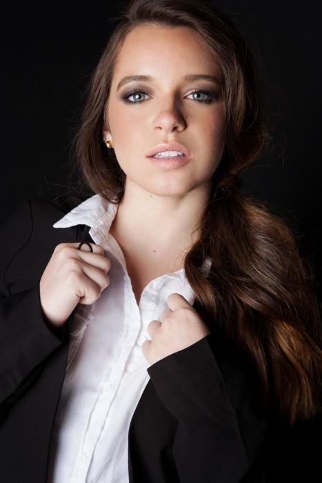"Photo of Ashley Zamora, who plays Erica Lopez on TV Land's new show, ""Lopez."""