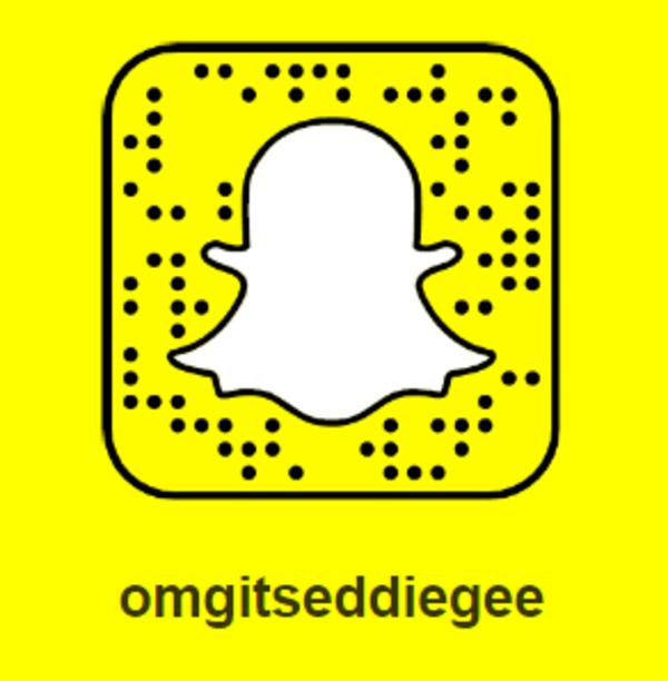 @omgitseddiegee on Snapchat.