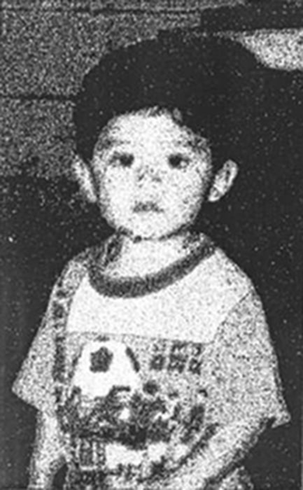 Image: Steve Hernandez in the only photograph Maria Mancia had of her kidnapped son