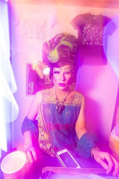 Photo of drag queen and community activist, Quesa'Dilla.