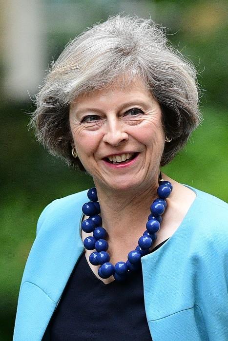 Image: Theresa May