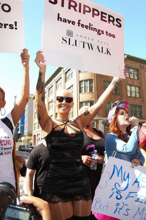 Amber Rose SlutWalk LA