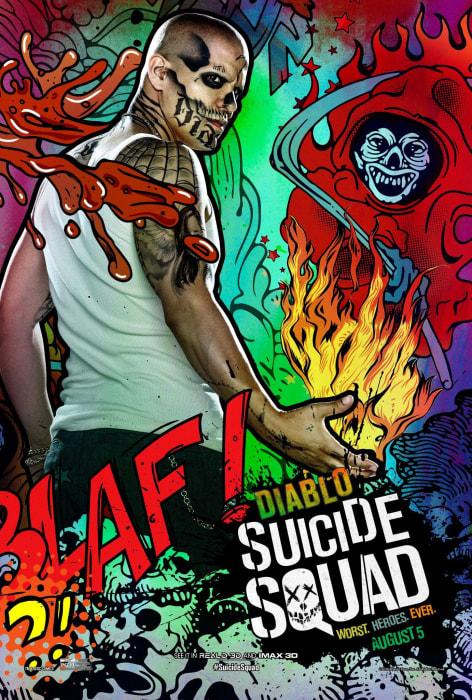 Suicide Squad Jay Hernandez Movie Poster