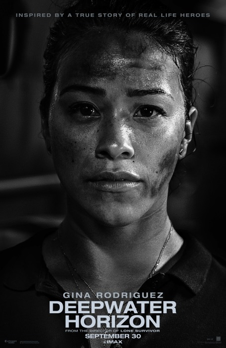Deepwater Horizon Gina Rodriguez Movie Poster