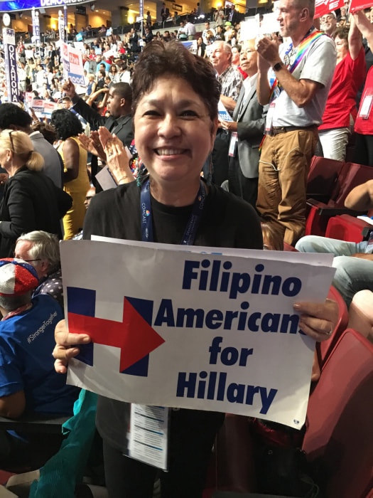 Mary Grace Barrios, Clinton delegate