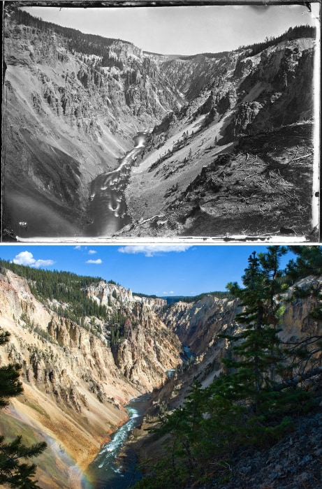 Image: Yellowstone's Grand Canyon